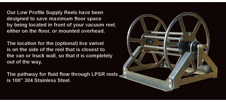 Low Profile Supply Reels