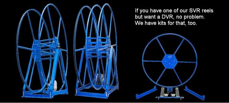 DVR Reel Conversion Kits
