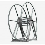 Vacuum Reel- Standard Height Single Capacity: 300 ft. Silver
