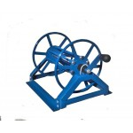 "Supply Reel- Low Profile 250 ft. of 1/4"" / 125 ft. of 3/8"": Blue"