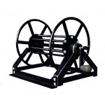 "Supply Reel- Low Profile 300 ft. of 1/4"" / 200 ft. of 3/8"": Black"