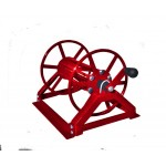 "Supply Reel- Low Profile 250 ft. of 1/4"" / 125 ft. of 3/8"": Red"