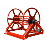 "Supply Reel- Low Profile 300 ft. of 1/4"" / 200 ft. of 3/8"": Red"