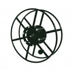 "Supply Reel: Narrow Profile- 300 ft of 1/4"" /  200 ft. of 3/8"": Black"