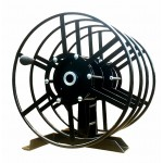 Dual NPSR400 Supply Reels, Mounted Horizontal: Black