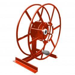 Single NPSR400 Supply Reel, Mounted: Red