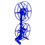 Dual NPSR300 Supply Reels, Mounted Vertical: Blue