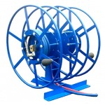 Dual NPSR300 Supply Reels, Mounted Horizontal: Blue