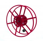 "Supply Reel- Narrow Profile: 300 ft of 1/4"" /  200 ft. of 3/8"": Red"