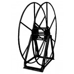 Vacuum Reel- Standard Height Single Capacity: 250 ft. Black
