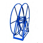 Vacuum Reel- Standard Height Single Capacity: 250 ft. Blue