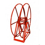 Vacuum Reel- Standard Height Single Capacity: 250 ft. Red