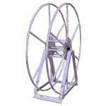 Vacuum Reel- Standard Height Single Capacity: 250 ft. Silver