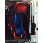 "Full Package for Nissan Low Roof Vans: ""Rob Allen Triangle"" 250 ft, Capacity Reel Arrangement: Red"