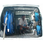Full Package for Chevrolet Astro / GMC Safari Vans: 200 ft. Capacity Reel Arrangement: Black