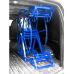"Full Package for Chevrolet / GMC Cargo Vans: ""Rob Allen Triangle"" 250 ft, Capacity Reel Arrangement: Blue"