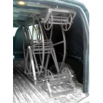 "Full Package for Chevrolet / GMC Cargo Vans: ""Rob Allen Triangle"" 250 ft, Capacity Reel Arrangement: Silver"
