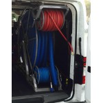 "Full Package for Nissan Low Roof Vans: ""Rob Allen Triangle"" 250 ft, Capacity Reel Arrangement: Silver"
